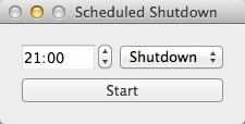 Scheduled Shutdown