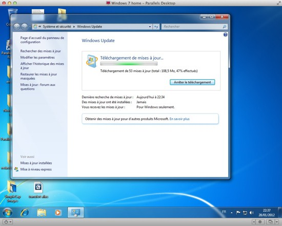 Parallels Desktop 7 Windows