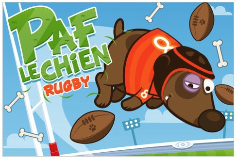 Paf le chien Rugby
