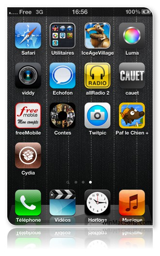 iPhone Jailbreak Cydia iOs 5.1.1