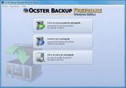 Ocster Backup Freeware, les sauvegardes faciles sous Windows