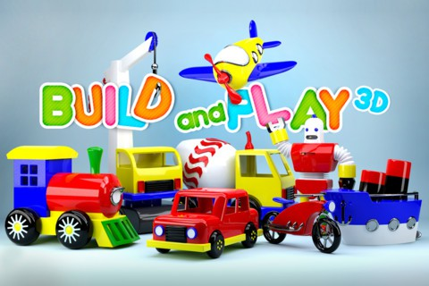 Build and Play 3D iPhone iPod iPad