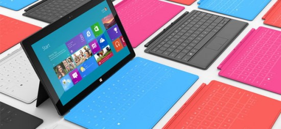 Tablette tactile Microsoft Surface