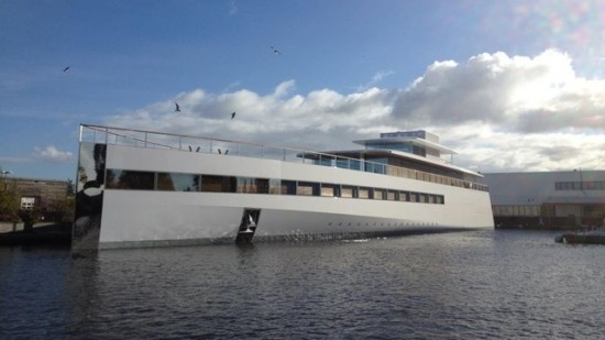 Venus, le yacht made in Steve Jobs