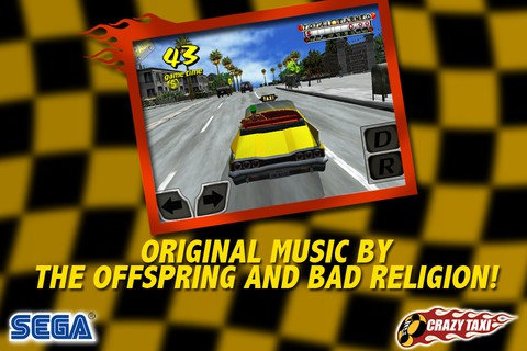 Crazy Taxi iOS iPhone iPad