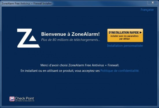 ZoneAlarm Security