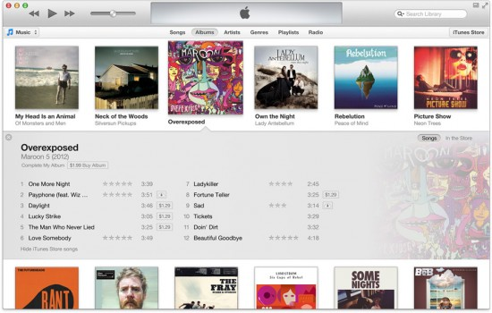 Apple nouveau iTunes 11 1