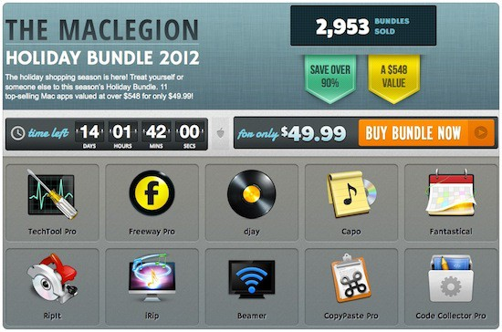 MacLegion 2012 Holiday Bundle