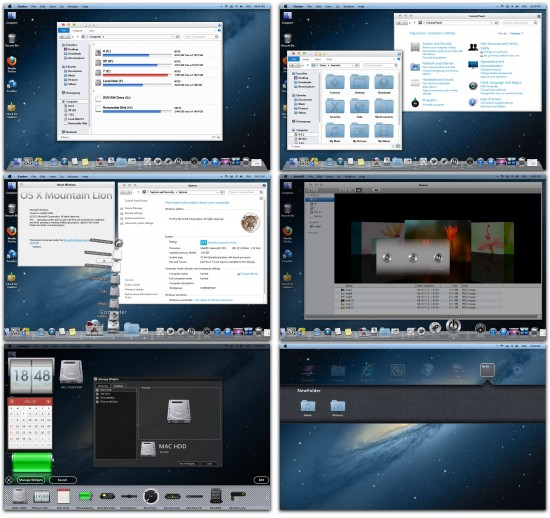 theme OSX Mountain Lion
