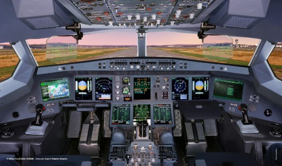Connected Cockpit, une application iPad par Airbus | 550 x 324 jpeg 56kB