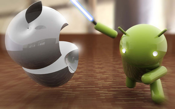 iPhone contre Android
