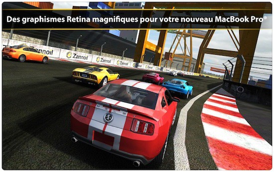 real racing 2 un jeu de course automobile sous mac os x. Black Bedroom Furniture Sets. Home Design Ideas