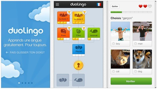 duolingo screens
