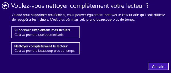 comment nettoyer son pc avec windows 8