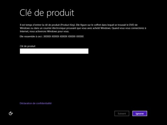 Comment formater Windows 8 (3)