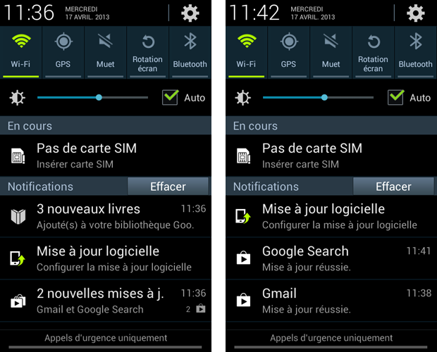 comment mettre a jour android